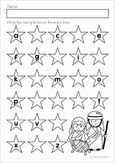 Nativity Story with Free Graphing Printable (Faith Filled Freebies ...