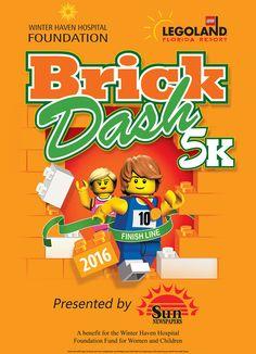 Combinando família, fitness e diversão, o evento anual Brick Dash 5K Run and Fun Walk está de volta ao Legoland Florida Resort no próximo sábado, dia 16 de abril de 2016, com o objetivo também de apoiar o Winter Haven Hospital Foundation's Fund for Women...