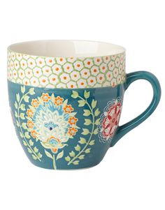 TALULAH XL mug turquoise | Mugs/cups | null | Glass and Porcelain | Home | INDISKA Shop Online