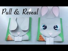 Pop-Up Tutorial 25 - Pull-tabs - Part 1 - The Basic Pull-strip 3d Cards, Pop Up Cards, Folded Cards, Card Making Supplies, Card Making Tutorials, Diy Interactive Cards, Origami, Tarjetas Diy, Slider Cards