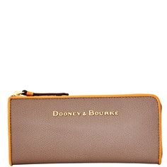 Dooney & Bourke | Claremont Zip Clutch | Clean lines and beautiful leather define the Claremont Collection.