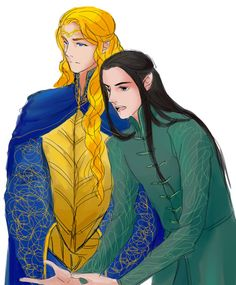 """""""Meanwhile in Elrond's Office"""""""