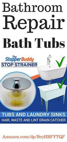 Bathroom repair bathtubs, bathrubs repair, scum remover shower, bathroom repair ideas, bathroom sinks repair, bath tubs repair, bathroom sinks diy, bathroom repair bath tubs, bathroom repair diy, scum remover, scum remover shower, home decor diy, home decor ideas for your bathroom #bathroom #decor #diy #decor #bathroomideas #repair #scum #remover Bathtub Repair, Sink Repair, Bathroom Repair, Drain Repair, Bathtub Drain, Sink Drain, Shower Bathroom, Bath Tubs, Home Kitchens