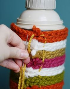 DIY coat for thermos!