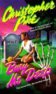 I used to love Christopher Pike books. I especially remember this one about someone dying from the bends.