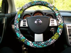 Vera Bradley Steering Wheel Cover!
