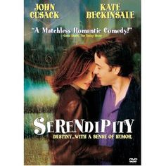 serendipity cute movie but i mostly love it because thats my favorite word yes