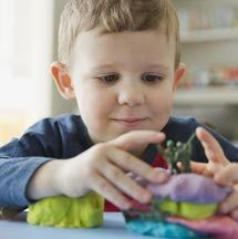 Have fun with your toddler with these quick and easy uncooked playdough recipes.