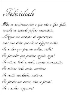 Stencil Poema Felicidade 15 x 20cm - OPA 1150 - Stencil 15 x 20cm - Stencil ou molde vazado - Empório Janial