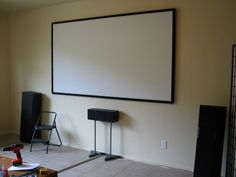 How (not?) to make a Home Theater projector screen This is the one...