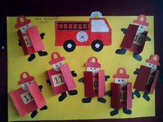 fireman-bulletin-board – Crafts and Worksheets for Preschool,Toddler and Kindergarten Fireman Crafts, Firefighter Crafts, Fireman Party, Diy And Crafts, Crafts For Kids, Community Helpers Preschool, Teaching Aids, Class Decoration, Kids Education