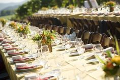 Wine Country Wedding. Events by So Eventful!