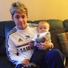 Niall Horan's Brother Greg Officially Launches Website For Baby Theo Horan