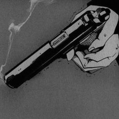 Image about black and white in action inspi by dualité Gun Aesthetic, Bad Girl Aesthetic, Aesthetic Grunge, Aesthetic Anime, Jhin League Of Legends, Arte Obscura, Black Aesthetic Wallpaper, Black And White Aesthetic, Dark Anime