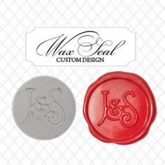 Wax stamp - I so want this on my wedding invitations!!!