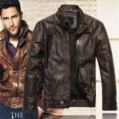 Kenntrice Autumn Winter Brand Leather Jackets Men Jaqueta Couro Masculino Bomber Leather Jacket Sheepskin Coat Motorcycle Jacket