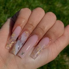 Bling Acrylic Nails, Drip Nails, Square Acrylic Nails, Summer Acrylic Nails, Best Acrylic Nails, Aycrlic Nails, Swag Nails, Hair And Nails, Toenails