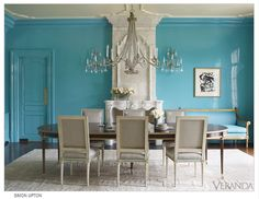 FINE PAINTS OF EUROPES IN HOUSE BEAUTIFUL | Gloss paint walls