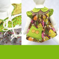 ADORABLE baby dress.  By Aunt Bucky.