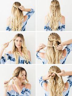 1001 Inspirierende Ideen Fur Einfache Flechtfrisuren Zum Selbermachen Sommerfrisuren Geflochtene Frisuren Sommerfrisuren Lange Haare