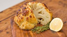 Whole Roasted Cauliflower Recipe from Everyday Gourmet with Justine Schofield