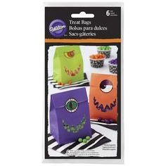 Bolsas de papel con pegatina Halloween (6) - Wilton