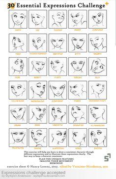 Expressions Challenge Accepted by StyrbjornA.deviantart.com on @deviantART