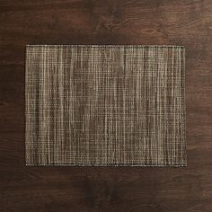 Water hyacinth weaves a refined take on the natural fiber placemat, exhibiting a rich, heathered appearance that can be used all year round. Due to the natural materials used in its construction, placemats will vary slightly.