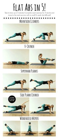 This workout is a quick 5 minute tummy toning workout when you're in need of a quick workout! If yo've seen my Pilates 5 Minute Ab Workout, you know I love quick efficient workouts for the abs. I h…