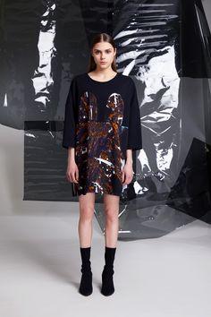 Photographer: Paavo Lehtonen MUAH: Piia Hiltunen Stylist: Shadi Razavi Model: Christina Shevelkova Red Moon, Light And Shadow, Ruffles, That Look, Feminine, Shirt Dress, Wool, Shirts, Collection