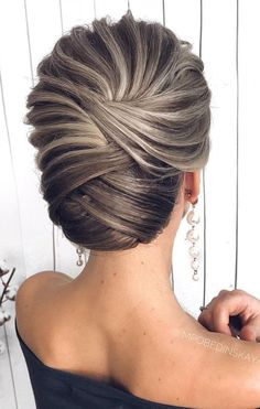 updo braided updo hairstyle ,swept back bridal hairstyle ,updo hairstyles ,wedding hairstyles hairstyles theme 55 Amazing updo hairstyle with the wow factor Short Hair Updo, Braided Hairstyles Updo, Braided Updo, Bride Hairstyles, Curly Hair Styles, Pretty Hairstyles, Chignon Hairstyle, Bun Braid, Updos For Medium Length Hair