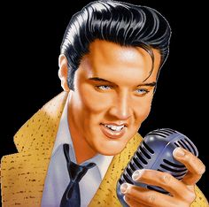 Elvis: I love him even though he's been dead for a while :)