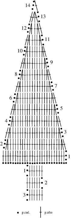 Croquis pino de navidad