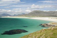 Bay in Sound of Taransay, Harris, Outer Hebrides Fotografie-Druck