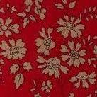 Liberty Tana Lawn - LTL03633055F - Capel - Red Sew box.co.uk