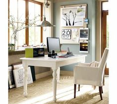 Like the thought of a light source hanging above the desk versus a desk lamp that will eat up space.