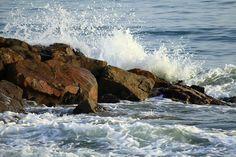 #Cuba #waves #rocks