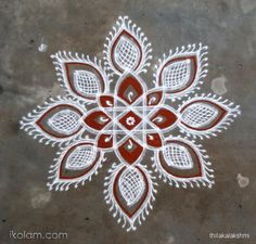 Rangoli Designs Latest, Simple Rangoli Designs Images, Rangoli Designs Flower, Rangoli Border Designs, Rangoli Patterns, Rangoli Ideas, Rangoli Designs With Dots, Rangoli Designs Diwali, Kolam Rangoli