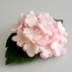 cherry blossom felt flower