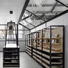 5 Impressive Cool Tips: Industrial House Architecture industrial interior showroom. Retail Interior Design, Retail Store Design, Retail Stores, Interior Design Studio, Tile Showroom, Showroom Design, Showroom Ideas, Design Garage, House Design