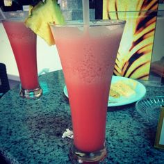 Sunrise drink - Punta Cana - RIU All Inclusive - drinks - vacation beverages