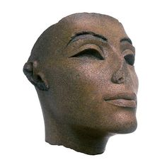 """Queen Nefertiti ruled alongside Akhenaten during the eighteenth dynasty BC). Nefertiti means, """"The beautiful one has arrived."""" She lived in Tell El Amarna, a city constructed by the pharaoh to worship their god Aten. Ancient Egyptian Art, Ancient History, Egyptian Things, Monuments, The Bible Movie, Queen Nefertiti, Egypt Art, Science Art, African American History"""