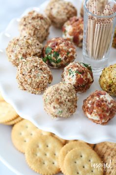 Mini Cheese Balls (aka Cheese Truffles!) Holiday Bacon-Inspired Appetizers