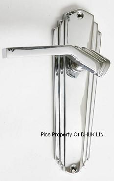 Art Deco | art deco door handles polished chrome please choose style art deco ...