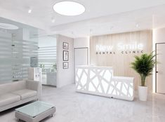 Teeth Names in Human Mouth (Types, Function, Dental treatments, Etc) Clinic Interior Design, Design Salon, Clinic Design, Design Design, Doctors Office Decor, Dental Office Decor, Doctor Office, Dental Offices, Office Art