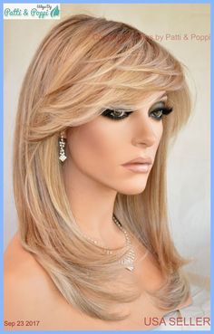 Long Haircut with Side Bangs - 40 Long Hairstyles and Haircuts for Fine Hair with an Illusion of Thicker Locks - The Trending Hairstyle Prom Hairstyles For Short Hair, Girls Short Haircuts, Face Shape Hairstyles, Layered Haircuts, Straight Hairstyles, Medium Long Hair, Long Hair Cuts, Medium Hair Styles, Short Hair Styles