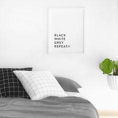 Black, White, Grey, Repeat // #designministrynz