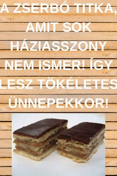 Hungarian Desserts, Hungarian Recipes, Hungarian Food, Holiday Treats, Cake Cookies, Christmas Cookies, Cheesecake, Dessert Recipes, Food And Drink