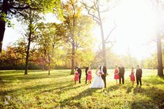 Wedding Bridal Party photos in nature! - Fall photoshoot! Nakai Photography