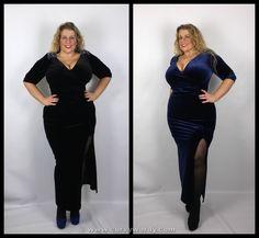 I review the Scarlett & Jo Embellished Velvet Dress http://www.curvywordy.com/2015/01/evans-scarlett-jo-embellished-velvet.html @copperfashion @evansclothing